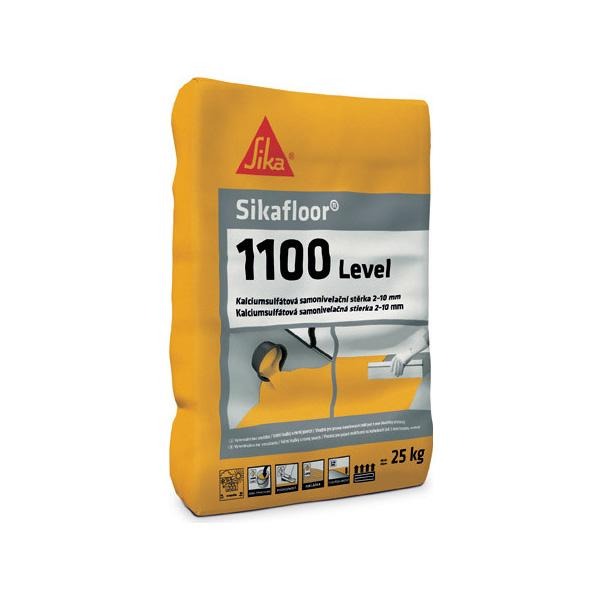 Samonivelačná podlahová hmota Sikafloor-1100 Level sadrová 25 kg