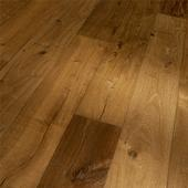 Engineered Wood Flooring Trendtime 8 Classic, oak smoked geb. naturaloil plus handcrafted widepl V-groove, 1739945, 1882x190x14 mm - Sortiment |  Solídne parkety