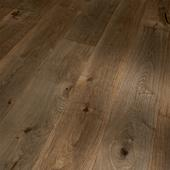 Engineered Wood Flooring Trendtime 8 Classic, oak smoked geb. naturaloil plus handcrafted gre widepl V-groove, 1739951, 1882x190x14 mm - Sortiment |  Solídne parkety