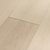 Engineered Wood Flooring Edition Open Frameworks Modul 1, Oak white matt lacquer wideplank micro-bevel, 1739996, 582,5x116,5x13 mm - Sortiment |  Solídne parkety